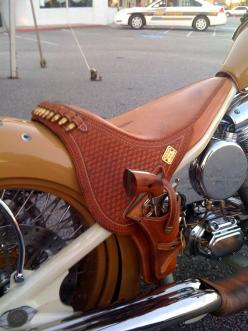 Arizona Motorcycle Seat...OMG!!!