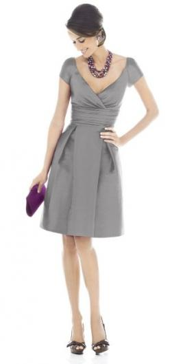Classic: Idea, Gray Dress, Style, Bridesmaid Dresses, Wedding, Outfit, Grey Dresses