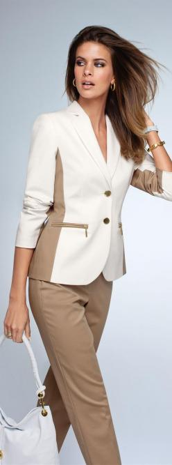 Fashion ~ Madeleine by Shelly ✦  from my board: https://www.pinterest.com/sclarkjordan/fashion-~-madeleine-by-shelly/: Office, Camel, Fashion, Style, Blazer, Dress, Madeleine, Work Outfit