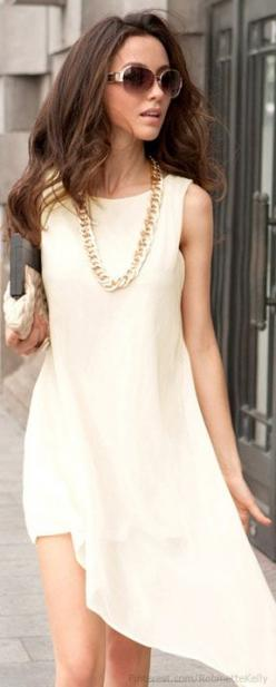 FrontDoorFashion.com - Professionally styled outfits delivered straight to your door!: Women S, Summer Dress, Fashion, Street Style, Dresses, Outfit, White Dress, Wear