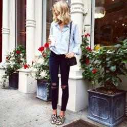 Jessica Stein @tuulavintage Instagram photos | Websta: Ripped Jeans, Casual Style, Fashion, Leopard Print, Street Style, Outfit, Fall Winter