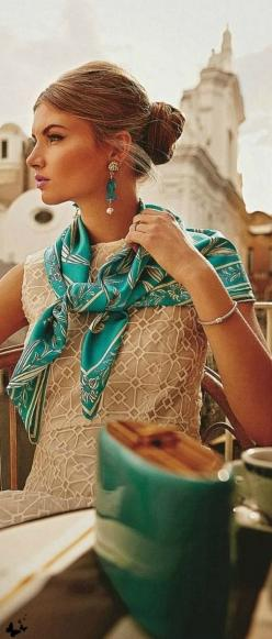#street #style know what scarf to wear @wachabuy: Capri Outfit, Fashion, Style, June 2014, Pasquale Abbatista