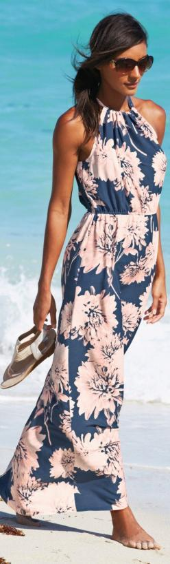Trinity Leeds London. Love this floral navy and with Maxi Summer Dress.: Floral Maxi Dress, Maxi Dresses, Summer Dresses, Summer Dress, Summer Maxi Dress, Style, Maxis