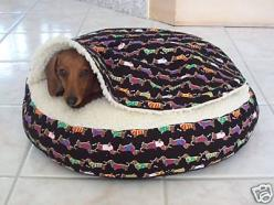 We need this: 3/4 Beds, Bed Snuggle, Small Dogs, Doxie, Dog Beds, Dachshund Bed, Animal