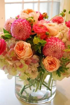 beautiful fresh flowers...: Beautiful Flower, Color, Wedding, Flower Arrangements, Floral Arrangements, Flowers