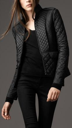 Cinched Waist Quilted Jacket | Burberry: Burberry Cinched, Fashion, Style, Jackets, Waist Quilted