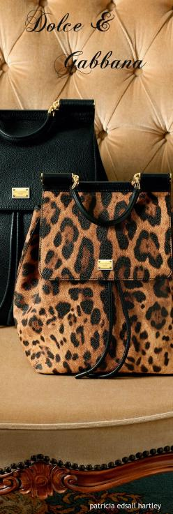 Dolce & Gabbana - Winter 2016: Animal Print 2016, Dolce Gabbana Bags, Dolce & Gabbana - Winter 2016, Dolce & Gabbana Bags, Dolce And Gabbana Animal Print, Bags 2016, Dolce And Gabbana 2016, Bags Shoes