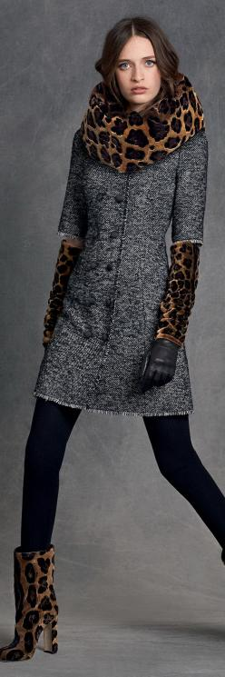 Dolce & Gabbana Women's Clothing Collection Winter 2016: Autumn Winter 2015 2016, Fashion, Dolce Gabbana, Clothing Collection, Fall, Dolce & Gabbana, Winter 2016, Coat