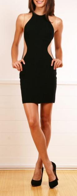 OMG I'm buying this now.: Illusion Dress, Style, Sexy Lbd, Outfit, Lil Black, Gorgeous Dress, Dresses Skirts, Stella Mccartney Dresses, Little Black Dresses