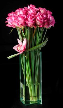 Tablescape Centerpiece www.tablescapesbydesign.com https://www.facebook.com/pages/Tablescapes-By-Design/129811416695: Centerpiece, Beautiful Flower, Pink Roses, Flower Arrangements, Floral Arrangements, Flowers