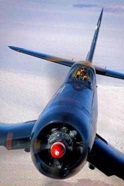 Corsair up close