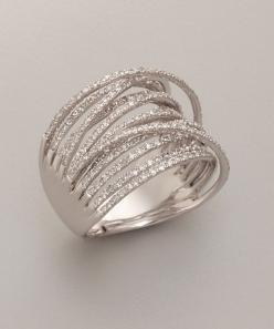 Diamond And White Gold 'Martha Graham' Ring... Mr. Right sure knows my right hand might get jealous and want some company. ;): Style, Rings, White Gold, Martha Graham