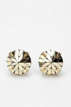 Prismatic Post Earring - Urban Outfitters