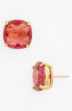 Saw these pink Kate Spade earrings on mom's wish list for Mother's Day. @nordstrom