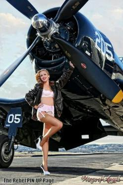 Wings of Angels Ashten Goodenough with Doug Matthews Chance Vought F4-U Corsair.: Airplane Girls, Airplanes, Aircraft, Noseart, Pinup Girls, Zpinups Sexygirls, Pin Ups, Pinup Pulp Cartoon