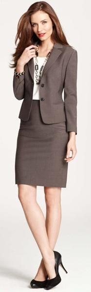 Ann Taylor, work wear.: Coats Jackets Blazers Suits, Business Wear, Anntaylor Wooljacket, Business Skirt Suit, Skirt Suits Interview, Suits Women, Business Suits