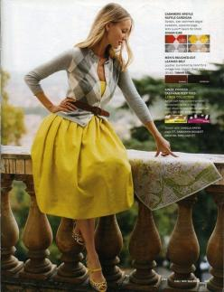 Argyle and yellow. Can't go wrong.: Argyle Sweaters, Full Skirts, Yellow Skirts, Teacher Outfit, Belted Cardigan, Yellow Grey, Yellow Dress