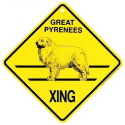 Great Pyrenees Crossing Sign: De Ja Vu, Pwm De Ja, Great Pyernes, Gift Ideas, Pyrenees Crossing, Great Pyrenees Puppy, Life Time