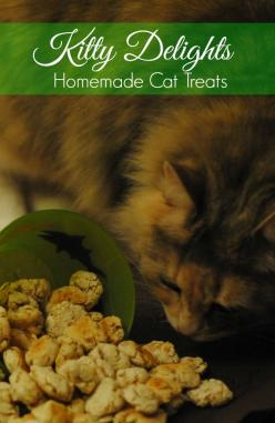 These cat treats are simple to make and will have your fur baby oh so happy! Only 3 ingredients and less than 20 minutes to make!: Homemade Cat Treats, Treats Cat, Animal Treats, Cat Treats Recipe, Cat Treat Recipe, Kitty Delight