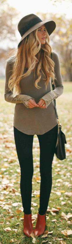 Modern Country Style: Modern Country Style Fashion For Autumn / Fall Click through for details.: Simple Outfit, Boho Outfit, Casual Fall Outfit, Boho Fall Outfit, Fall Style, Country Outfit, Boho Chic Outfit, Fall Fashion, Fall Winter