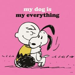 My dog is my everything