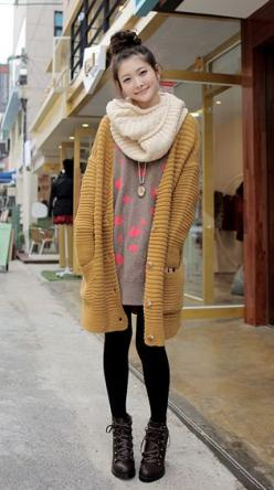 oversized {this look reminds me of Japan, all the girls there were rocking a summery version of this layered look}