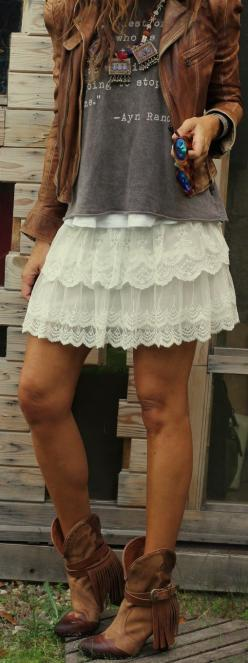 SF Stylist.... This skirt is adorable! I am going on a trip soon and I need this or a tank lace dress!!! Or both!