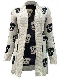 Skull Knitted Cardigan....LOVE THIS!!!!