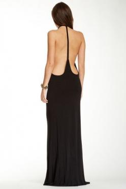 Archer Maxi Dress by Young Fabulous & Broke on @HauteLook: Sexy Black Dress, Long Black Dresses, Holiday Dresses, Maxi Dresses, Sexy Dresses, Backless Dresses, Archer Maxi, Low Back Dresses