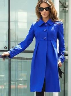 Empire line wool coat - beautiful cobalt blue!: Coats Jacket Pattern, Cobalt Blue, Jackets Coats, Blue Coats, Winter Coats, Beautiful Coats Jackets Vests, Wool Coats
