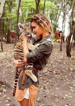 I got to hold a baby jaguar when I was little & it was awesome! ~Cindy M. (Since I pinned this, I've learned the evil ways in which these places take these babies away from their mothers @ a very young age & often these wild baby cats are star