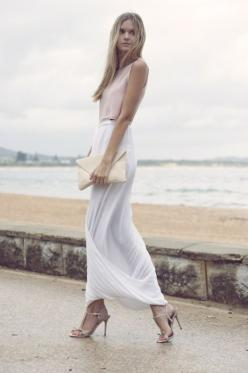 Neutrals: Women S, Fashion Style, Dress, Spring Summer, Long Skirts, Outfit, Street Styles, White Maxi Skirts, White Skirts