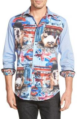 Robert Graham 'English Bulldog' Classic Fit Graphic Sport Shirt available at #Nordstrom: Bulldogs Xing, Sports Shirts, English Bulldogs, Bulldog Classic, Dog Accessories, Bulldogs Pets