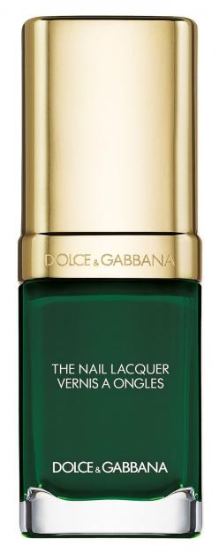 This enchanting emerald hue is the perfect fall shade | Dolce&Gabbana liquid nail lacquer.: Dolce Gabbana, Nail Polish, Color, Beauty Products, Dolce & Gabbana, Nail Lacquer