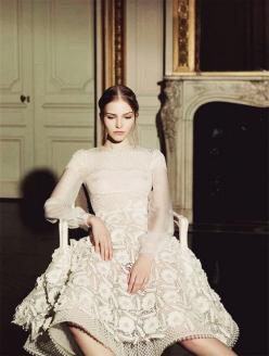 valentino haute couture | spring summer 2013 by {this is glamorous}, via Flickr: Italian Vogue, Gian Paolo, Couture Spring, Sasha Luss, Valentino Haute, Fashion Editorial, Haute Couture