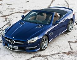 2013-Mercedes-Benz-SL-65-AMG-Roadster-01. SOMEDAY MY WISH will come true...ole ladies in a convertible never age!