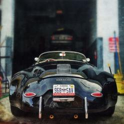 'Love this 'wide-body' look! Porsche 356 Speedster with fender flares. 'Most likely a replica but still very cool if put together correctly. Gotta' love fender flares!