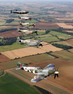 Battle of Britain memorial flight  Thought you'd love this picture Dad xxxxx