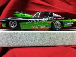 Drag Slot Car built by Sheaves Racing Slots, another one of my personal cars.