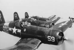 F4U Corsair - While most will talk about the P51 Mustang, the Corsair was one of the most impressive and lethal fighters of the era. Fast, powerful and boasting impressive kill ratios.