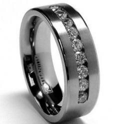 Men's Wedding Bands - How to Choose the Perfect Ring for Him: Titanium Rings, Wedding Ideas, Mens, Weddings, Men'S, Wedding Bands, Wedding Rings