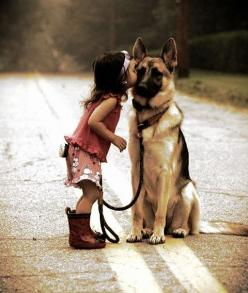 ron-luvs-beauty:  beansworld66:  criticalmadness:  A dog is the only thing on earth that loves you more than himself  Amen.  True LOVE :): Germanshepherd, Animals, Girl, Friends, Dogs, Pet, German Shepherds, German Shepard, Kid