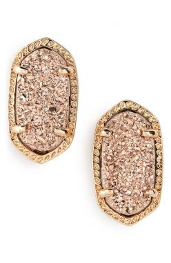 These gorgeous rose gold Kendra Scott earrings will make a dazzling gift.