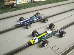Two of the most beautiful slot cars ever made.