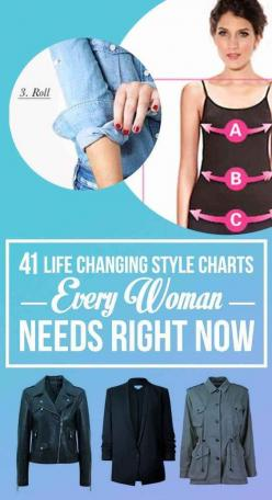 41 Insanely Helpful Style Charts Every Woman Needs Right Now: Style Chart, Fashion Tip, Clothing Style, Fashion Style Tip, 41 Insanely, 41 Helpful