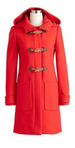 Coral Coat: Fashion Style, Coats Jackets, A Tomboy In Style, Coral Coat, Coat Toggles, Red Coats, Coats Sweaters