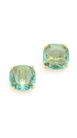 The only thing better than diamond studs? Bright, fun earrings like these Kate Spade gems