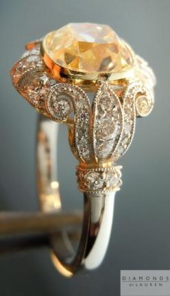 Now that is one STUNNING Diamond of a Ring!!!