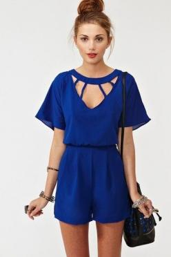 Romper - This is a cool design for young people with a great body. It is really a dressie outfit at well. I love it.