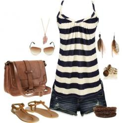 cute summer outfit: Dream Closet, Summer Style, Spring Summer, Cute Summer Outfits, Summer Clothes, My Style, I D Wear